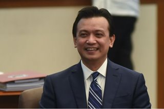 'Careful, thorough evaluation' of Trillanes amnesty plea made: document