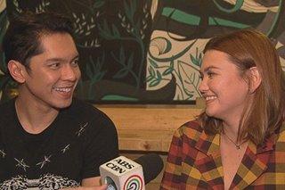 Carlo Aquino, Angelica Panganiban, sumabak sa 'hot seat'