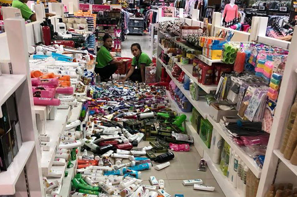 4 magnitude quake jolts Davao Oriental