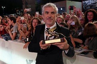 Cuaron's Mexican 'masterpiece' wins Venice film festival