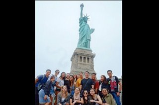 #aNYmoLaSalle: DLSU Lady Spikers enjoy the Big Apple