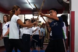 'Sports U': Arnis master's advocacy? Teach solo parents martial arts