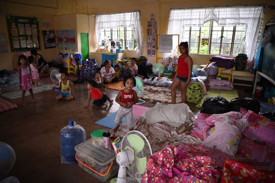 Cagayan school as evacuation center