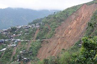 Barangay Ucab sa Itogon, Benguet, 'landslide-prone'
