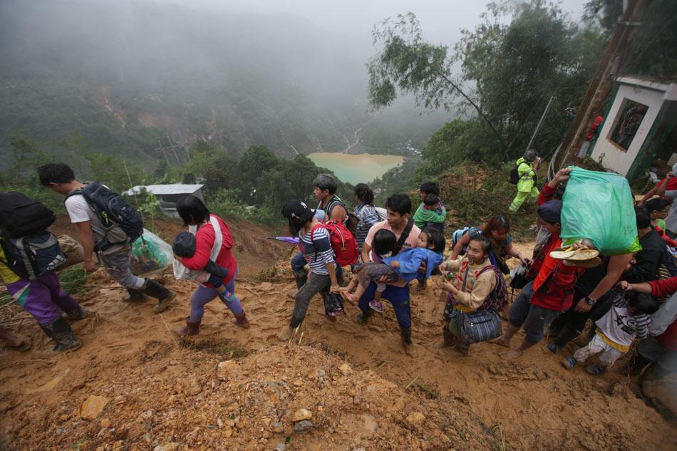 Ompong leaves trail of destruction in Luzon 22