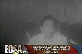 PANOORIN: Paano ang pamumuhay noong Martial Law?