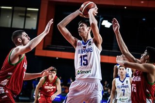Kai Sotto won't play for Mighty in Dubai tourney