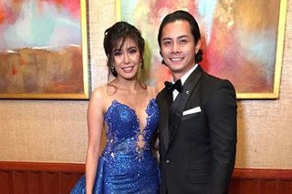 Why Myrtle, JC Santos were together at ABS-CBN Ball