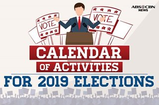 2019 elections: Remember these dates