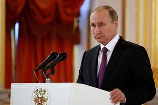 Russians' trust in Putin plunges to 39 percent