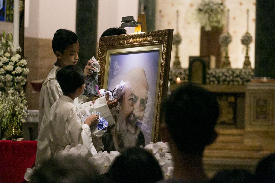 In honor of Padre Pio