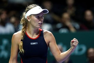 Tennis: Support pours in for arthritis-hit Caroline Wozniacki