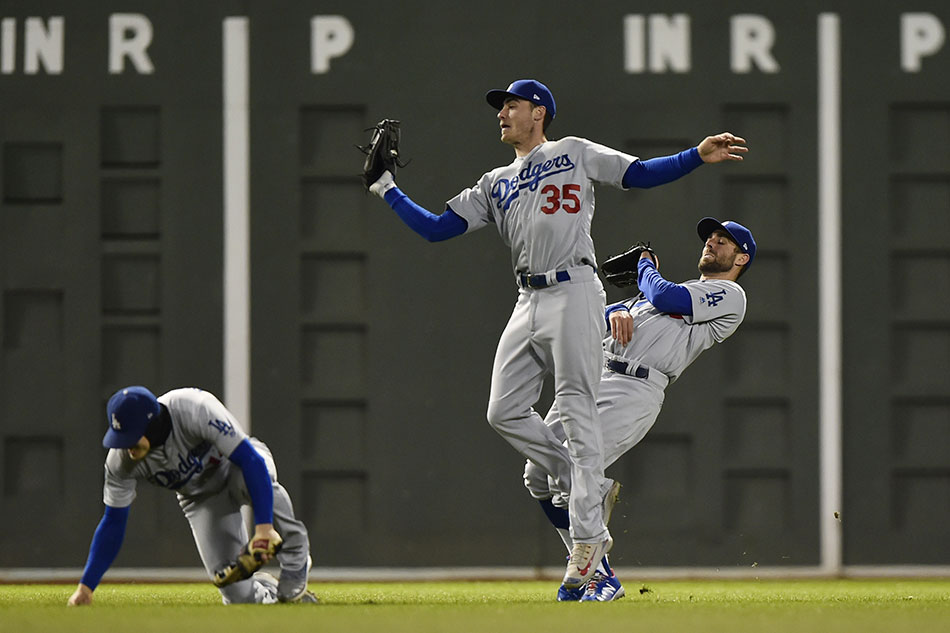 Dodgers win record seven-hour World Series game