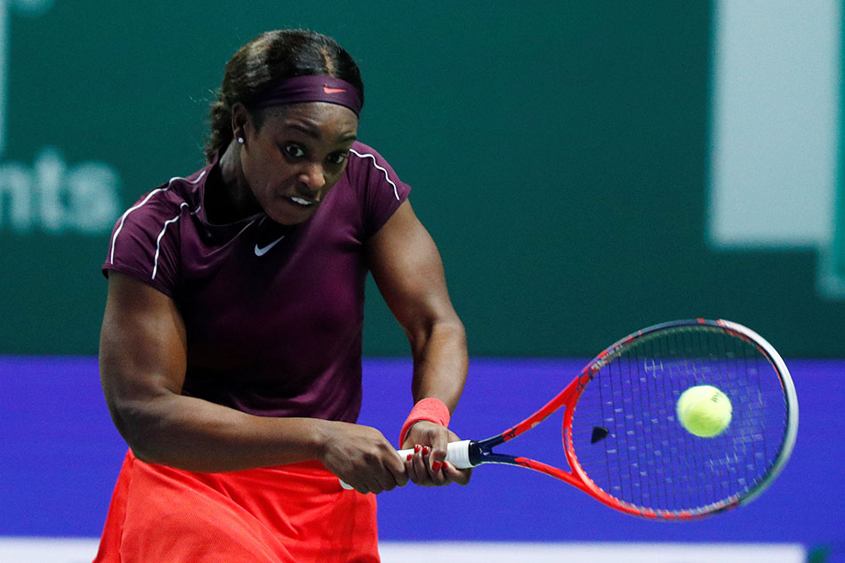 Tennis Sloane Stephens Downs Angelique Kerber Storms Into Wta
