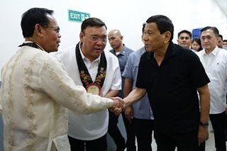 An endorsement? Duterte praises Roque for being 'a fighter for human rights'