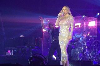 SILIPIN: Mga eksena sa ika-3 pagtatanghal ni Mariah Carey sa Pinas