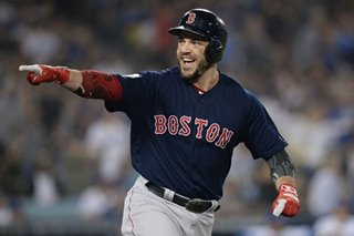 Baseball: Boston's Pearce goes from castoff to World Series MVP