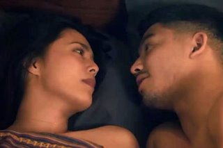 WATCH: Tony Labrusca passionately kisses Angel Aquino in 'Glorious' trailer