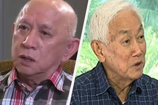 Duterte says Agcaoili, Jalandoni eye PH return