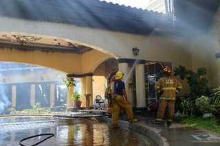 Fire hits APEC Villas clubhouse in Subic
