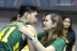 In final UAAP game, Arvin Tolentino pays respect to both FEU and Ateneo