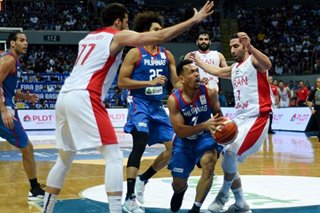 FIBA World Cup: Returning Jayson Castro plays through ankle sprain in loss