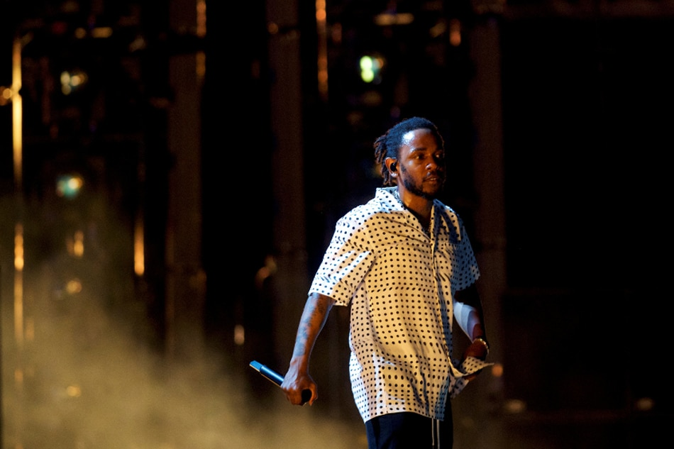 Kendrick Lamar leads all Grammy nominees with 8