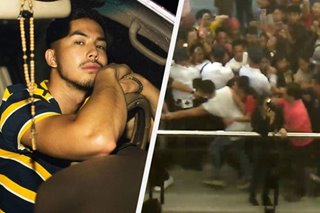 Amid mall chaos, Tony Labrusca falls after 'getting punched in the face'