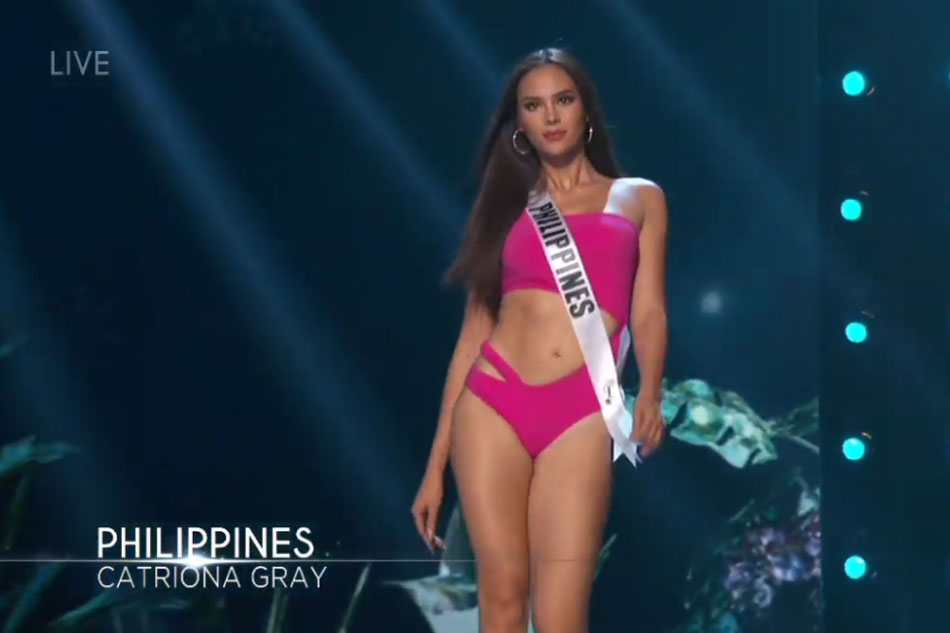 A Is PrelimsCatriona Stunner Miss Swimsuit In Competition Universe dxeWroCB