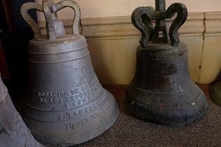 WATCH: Balangiga church bells toll to mark new year