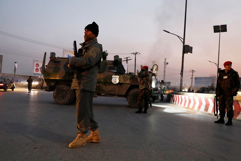 Dozens killed in attack on Kabul government building