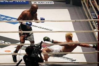 Mayweather floors Japan's Nasukawa in just two minutes