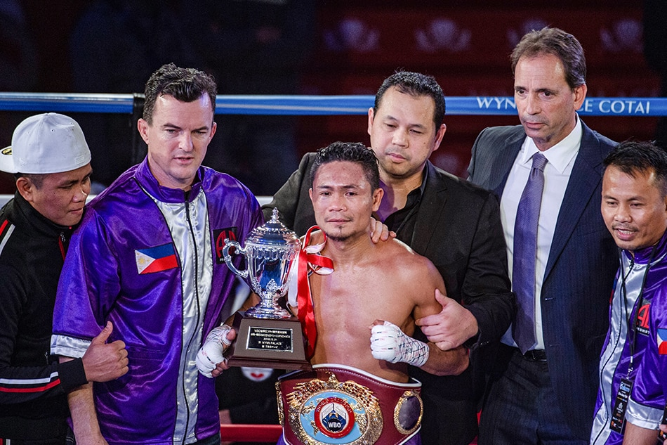 Donnie Nietes vacates WBO crown