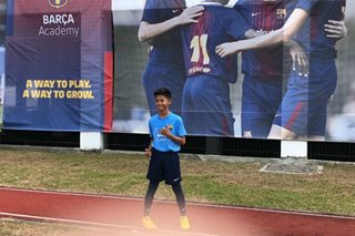 From Negros to Barcelona: A young athlete travels closer to his football dreams