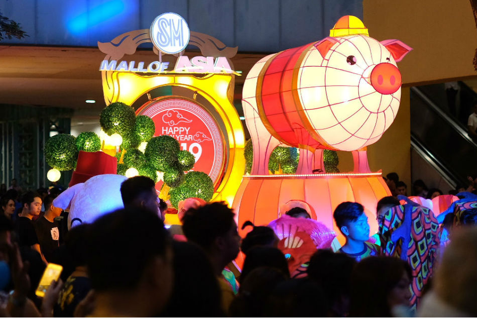 Why these Chinese New Year parade floats were showstoppers