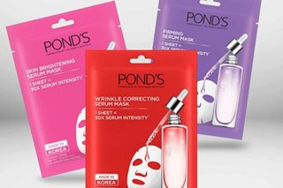 Pond's says serum face masks '30x more intense' than liquid formulation