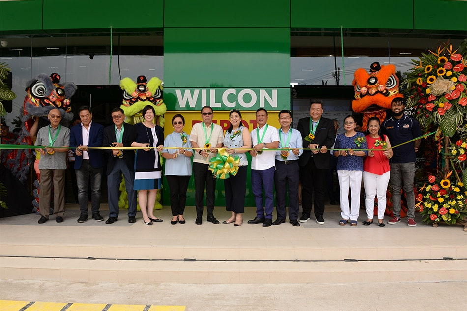 Wilcon Depot opens third outlet in Rizal province