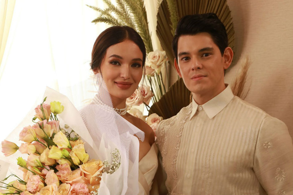 How did Richard Gutierrez and Sarah Lahbati prepare for the ABS-CBN Ball?