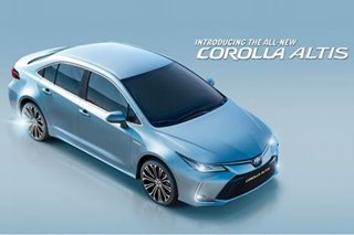 The All New Corolla Altis spearheads the new Hybrid era