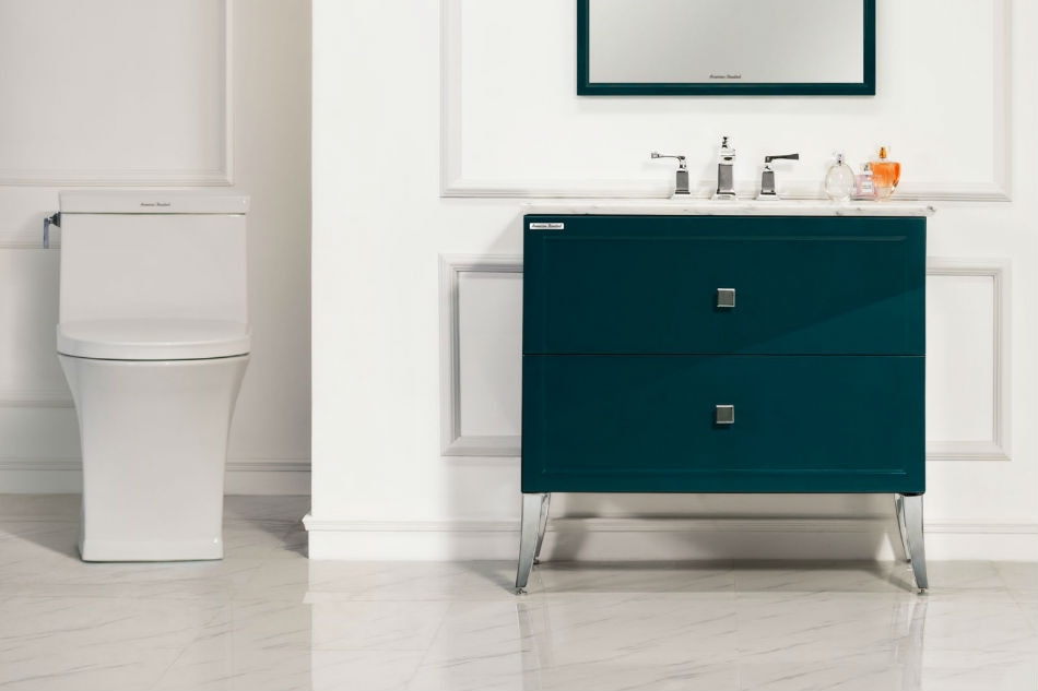 Sophisticated and functional bathroom made possible