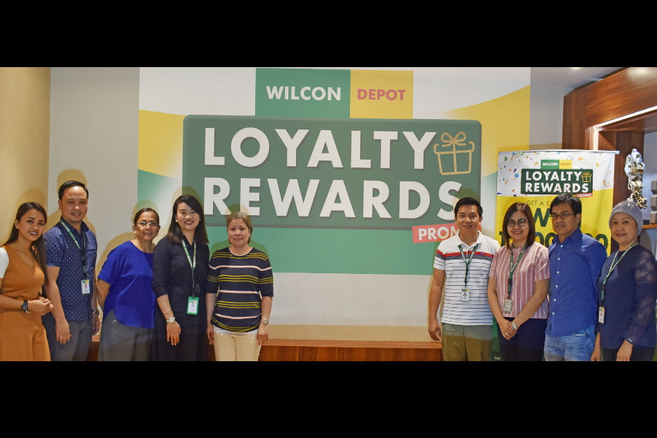 Wilcon announces lucky winners of Loyalty Rewards Promo