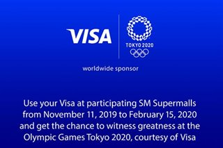 Visa opens Olympic Games Tokyo 2020 campaign in PH
