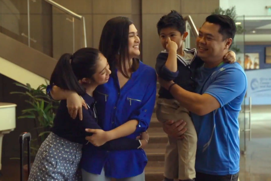 Dimples Romana shares unique family bonding time