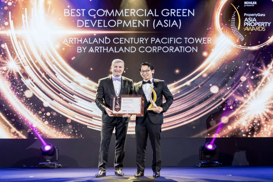 Arthaland Century Pacific Tower named Best Commercial Green Development in Asia