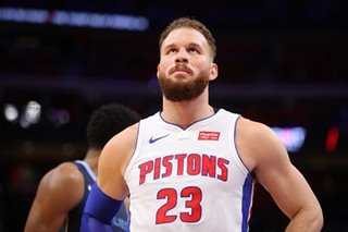 NBA: Pistons' Griffin likely out all series -- report