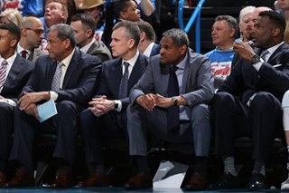 NBA: Thunder GM 'anticipates' return of coach Donovan