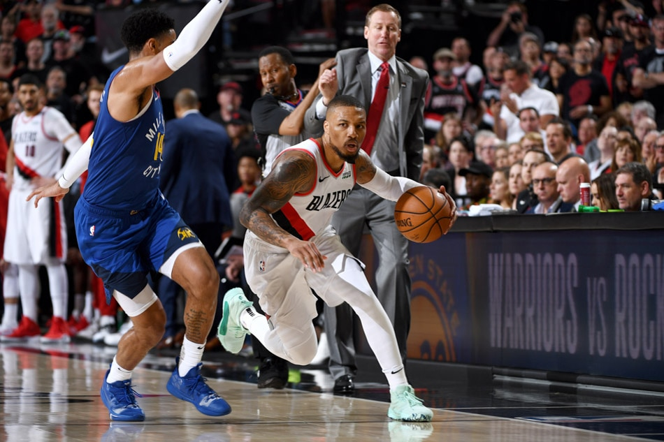 Trail Blazers' Curry calls Barton, Nuggets 'sassy' after Game 6 dustup