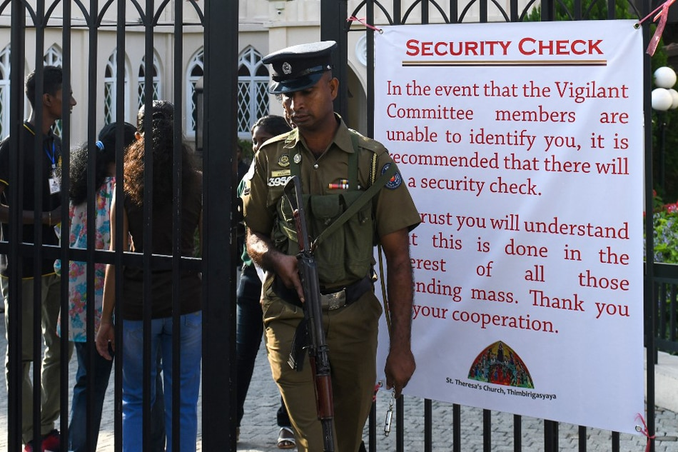Sri Lanka blocks social media and imposes curfew after anti-Muslim attacks