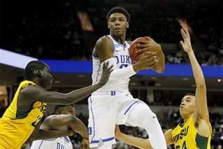 NBA: Duke's Barrett to visit Knicks -- report