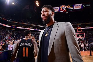NBA: Pelicans agree to trade Davis to Lakers -- reports